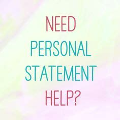 Sample Personal Statement: Office of Student Affairs